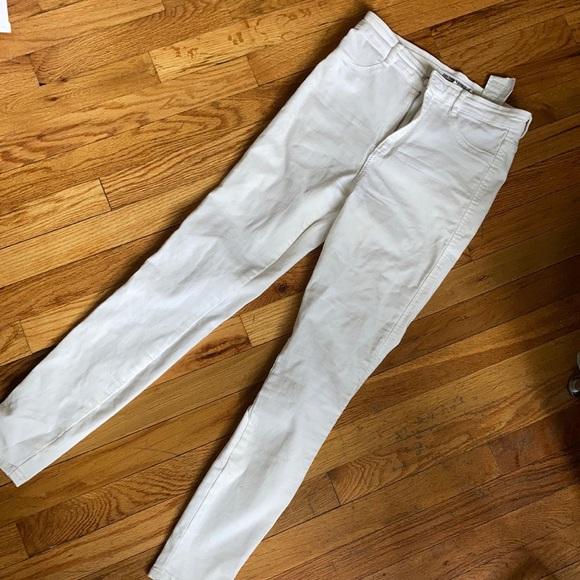 White Denim Zara Jeans 👖